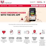 $1 Regular Chips @ KFC (via App)