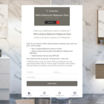Win a Bathroom Makeover Worth $700 from Timberline