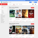$0.99 or $1.49 Any Movie Rental @ Google Play Movies