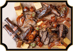 Vacuum Packed American BBQ Meals (BBQ Beef Ribs, Side, Bacon, Corn Bread & Sauce) $24+ Free Pickup or Delivery @ Third Wave Cafe