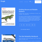 [eBook] Free: Building Secure and Reliable Systems by Google