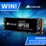 Win a Corsair 960GB M.2 NVMe SSD Worth $299 from PC Case Gear