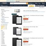 Kindle Paperwhite 4G 32GB $319 / Wi-Fi $209, Paperwhite 8GB $169, Kindle $119,  Delivered @ Amazon AU