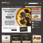 Good Food Gift Card 15% off Digital Gift Cards When You Spend $100 or over