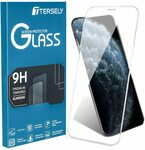 TERSELY 6D  Full Coverag Screen Protector for iPhone 11 / XR $4.86 + Delivery ($0 with Prime/ $39 Spend) @ Statco via Amazon AU
