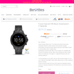 25% off Fossil Gen 5 Smart Watch FTW4038 - $374.25 Delivered (Normally $499) @ Bevilles Jewellers