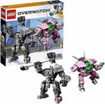 LEGO Overwatch D.Va & Reinhardt 75973 $39 Delivered @ Amazon AU