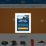 60% off Selected National Geographic Gear, Wanderer 3x3m Classic Gazebo $79.99 @ BCF