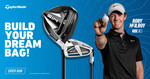 Win Your Dream TaylorMade Golf Bag Worth Up to $5,815 from TaylorMade Golf