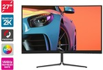"Kogan 27"" QHD 144hz FreeSync HDR400 Curved Monitor $449 + Delivery (Free with First) @ Kogan"
