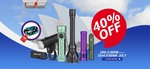 Up to 40% off Torches | Javelot Pro $195.97, S2R II Purple $76.97, Seeker 2 Pro Mint Green $150.47 & More + Gifts @ Olight