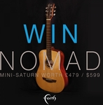 Win a Faith Nomad Mini Saturn Electro Guitar Worth Over $870 from Faith Guitars