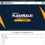 Sparesbox 20% off Flash Sale (24 Hours)