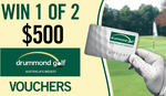 Win 1 of 2 $500 Drummond Golf Vouchers from Seven Network