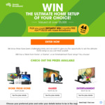Win a Sony/Samsung/MacBook Air Prize Package Worth Up to $5,180 from Aussie Broadband