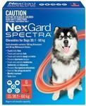 Nexgard Spectra for Dogs Small $75.99 (Save $61), Medium $91.99 (Save $56), Large $95.99 (Save $62) at Petbarn