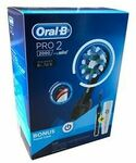 Oral-B Pro 2 2000 Midnight Black Electric Toothbrush w/ Travel Case $59.95 / $49.95 with AfterPay @ Aus HealthcareDirect eBay