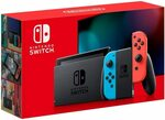 Nintendo Switch Console (Neon Blue/Red or Grey) $399 Delivered @ Amazon AU