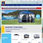 Philips Wireless Earbuds $59.99, Gazebo Tent $69.99, 4 Person Pop-up Tent $49.99 @ ALDI