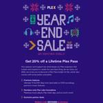 20% off Plex Lifetime Pass (A$127.99) @ Plex