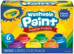 Crayola 54-1204 Kids Paint 6pk $6.99, Crayola SuperTips Markers 50pk $13.99 + Delivery ($0 with Prime/ $39 Spend) @ Amazon AU