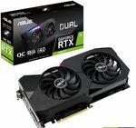 ASUS Dual NVIDIA GeForce RTX 3060 Ti OC Edition $631.48 + Delivery ($0 with Prime) @ Amazon US via AU
