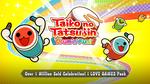 "[Switch] Free - Taiko No Tatsujin: Drum 'n' Fun! - ""Over 1 Million Sold Celebration! I LOVE GAMES"" DLC + more - Nintendo eShop"