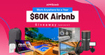 Win 1 of 2 US$24,000 Airbnb Gift Cards from AppSumo