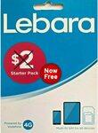 Lebara $2 Starter Pack SIM Card $0 Delivered @ FreeSimCards