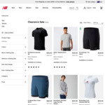 Extra 30% off Clearance Clothing: Hoodies & Sweatpants from $28, Tees & Shorts from $21 + $10 Post ($0 with $100+) @ New Balance