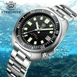 Steeldive 1970 (Seiko Auto NH35) from US$83.30 + GST (~A$117.00) Delivered (No Logo on Rubber) @ STEELDIVE AliExpress