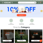 10% off Sitewide + Extra 10% off Coupon, Free Delivery with $30 Order @ Hoselink
