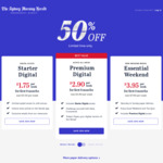 50% off The Sydney Morning Herald for Six Months (Subscriptions from $1.75, $2.90, $3.95 Per Week) @ The Sydney Morning Herald