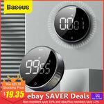 [eBay Plus] Baseus Magnetic LCD Timer, $13.24 Delivered @ Baseus eBay