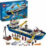 LEGO City Ocean Exploration Ship 60266 Building Kit $99 Delivered @ Amazon AU