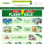 10% to 20% off Selected Products + Delivery ($0 to Most Areas with $49 Order) @ Budget Pet Products