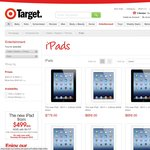 5% off iPads at Target - The New iPad Wi-Fi 16GB $474, 32GB $597, 64GB $711 and More