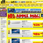 10% off Apple Macs at JB Hi-Fi Yet Again - iPads and BTO Excluded