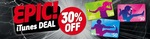 30% off All iTunes Cards at 7-Eleven