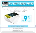 9c 6x4 photo prints - BLACK & WHITE PHOTOGRAPHICS - in store (Adelaide) and online with voucher
