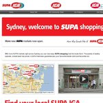 SUPA IGA Weekly Specials (Sydney) Inc Cadbury Bars $0.79 & Starbust Lollies $1.29