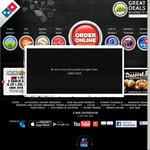 Domino's - Any 3 Pizzas + Garlic Bread + 1.25l Coke $31.95 Delivered