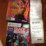 Xbox 360 - Dance Central & Zumba Fitness $4 Each at Target