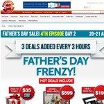 Father's Day Frenzy-15 Item Includes Sony Tablet $199, 1TB USB 3.0 $59, Toshiba i5 Ultrabook $599