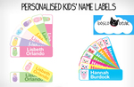 Scoopon - Personalised Kids Name Labels from Bosco Bear - $8 Delivered