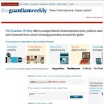Guardian Weekly Newspaper 50% off - $153 / Year (Usually $285 Annually)