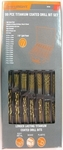 Bunnings - Craftight 99 Piece Titanium Coated High Speed Drill Bit Set $24.67