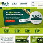 UBank home loan $2,014 EFTPOS Card Offer. Extended until 5pm (EST) 7 March