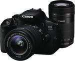 Canon 700DMTK 700D Movie Twin Lens Kit (18-55mm & 55-250mm) $897 @ The Good Guys
