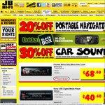 JB Hi-Fi-30% off Car Sound until Sunday [e.g Sony DSXA30 USB Player $40.60]